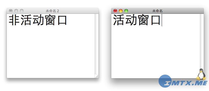 Mac OS X Shadow