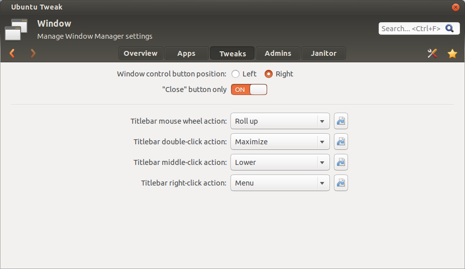 Ubuntu Tweak 0.8.5 01