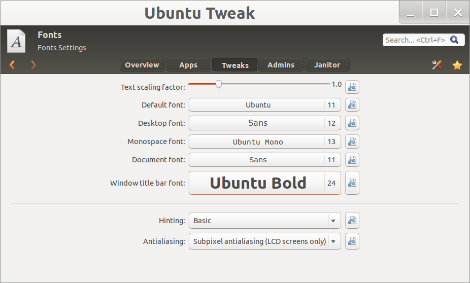 Ubuntu Tweak 0.8.5 02