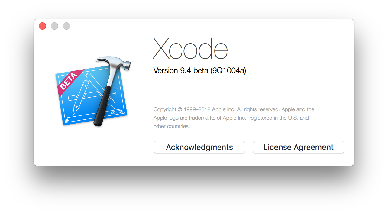 Xcode Swift 4.1 Crash 2