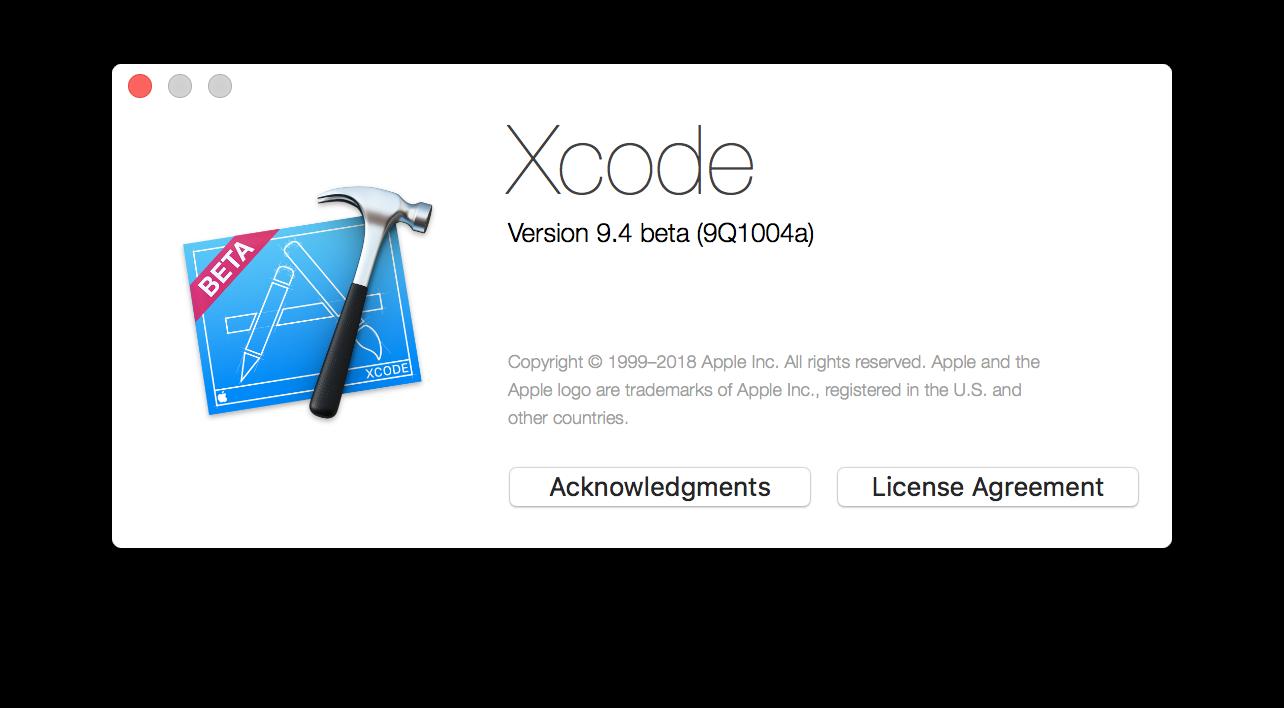 Xcode Swift 4.1 Crash 2